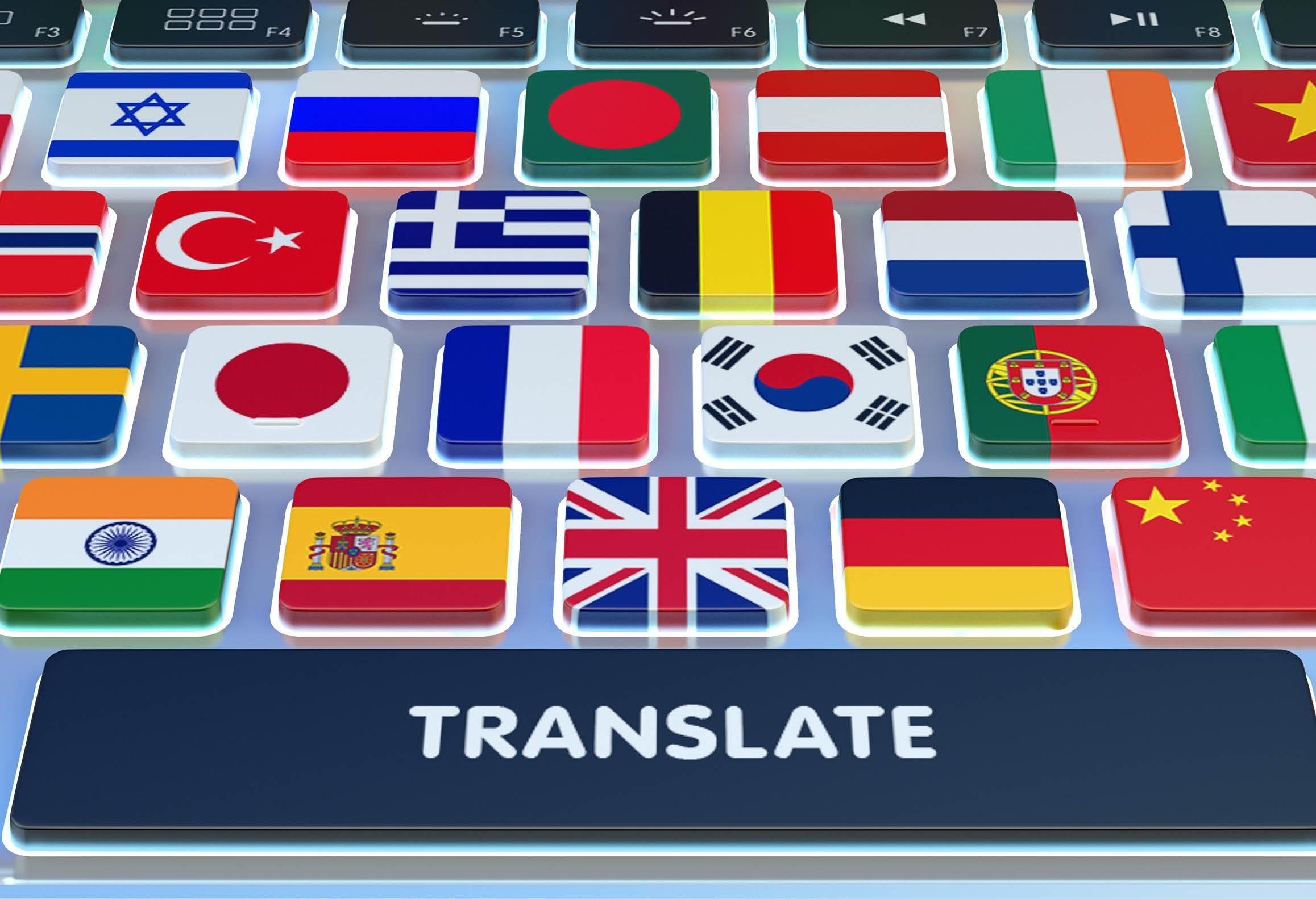 Bild med olika nationsflaggor